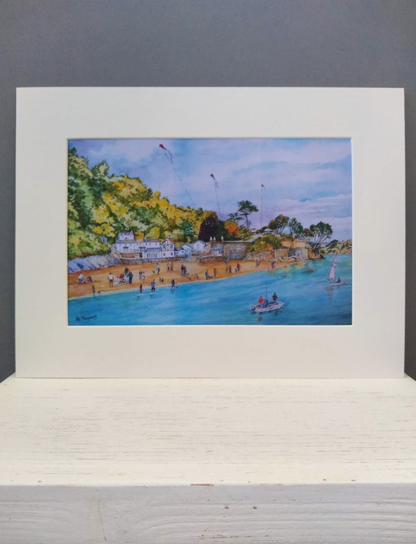 Medium Polkerris print by Pat Thuysbaert