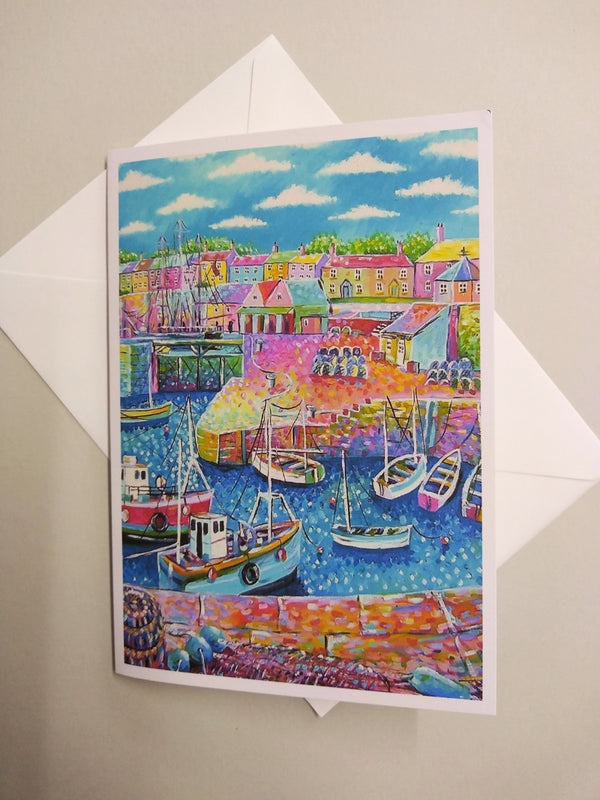 Charlestown large card by Paul Clark