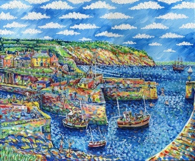 Charlestown Harbour print by Paul Clark