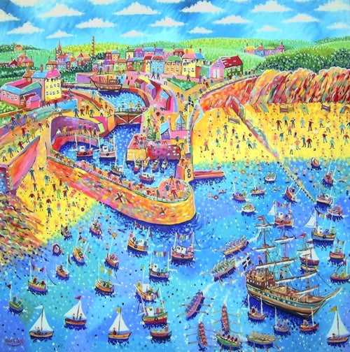 Charlestown Regatta print by Paul Clark