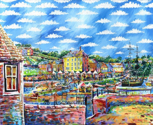 Fun In The Sun Charlestown print by Paul Clark