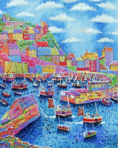 Mevagissey Day print by Paul Clark
