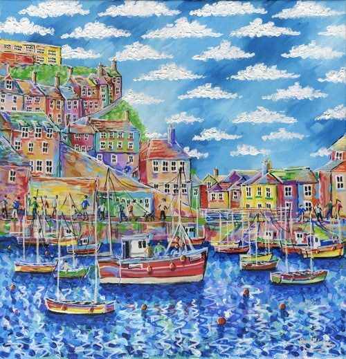 Mevagissey Harbour print by Paul Clark
