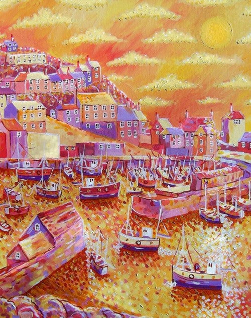 Mevagissey Sunrise print by Paul Clark
