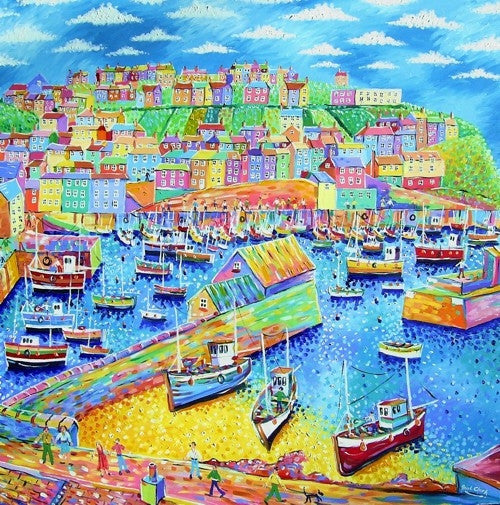 Mevagissey Cornwall print by Paul Cark