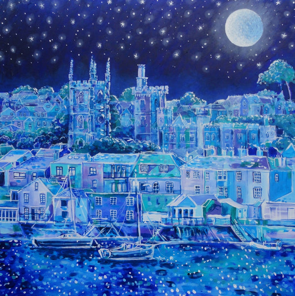 Paul-Clark-Moonlight-Over-Fowey-print