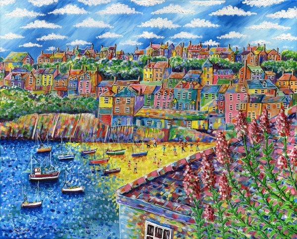 Port Isaac print by Paul Clark