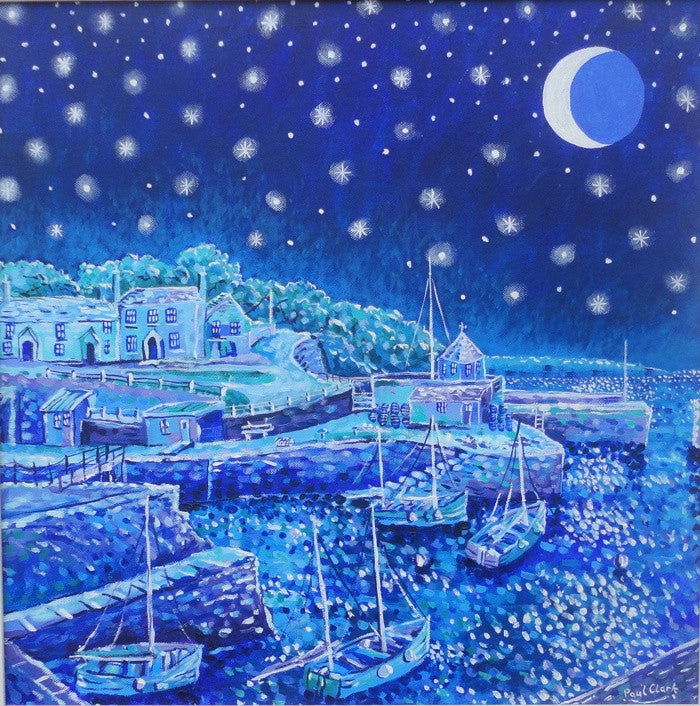 Starry Night Charlestown print by Paul Clark