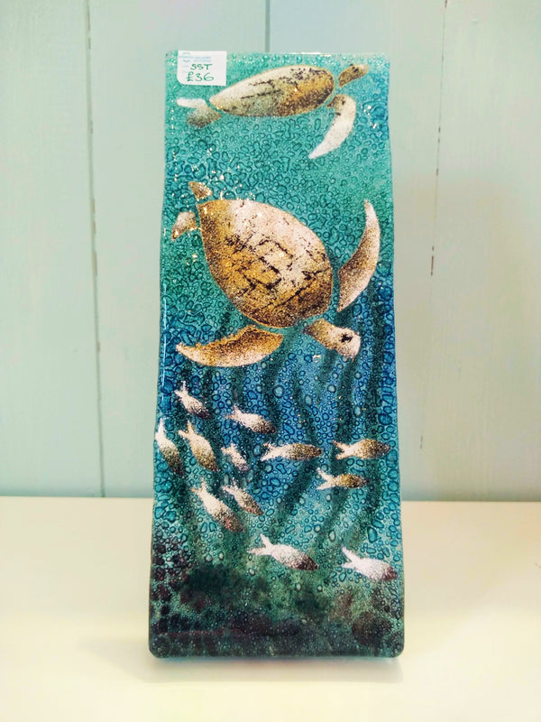 Small Turtle Glass Stand