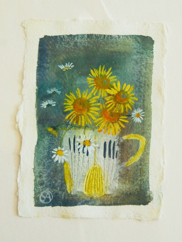 "Stephanie Axtell ""Sunshine Cup"" painting"
