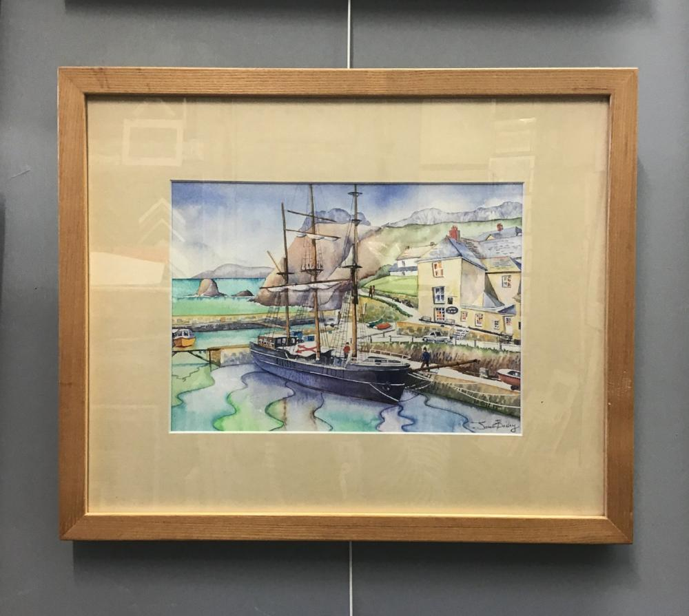 Charlestown Dock by Janet Bailey