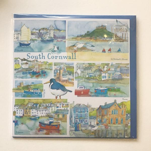 South Cornwall card by Emma Ball