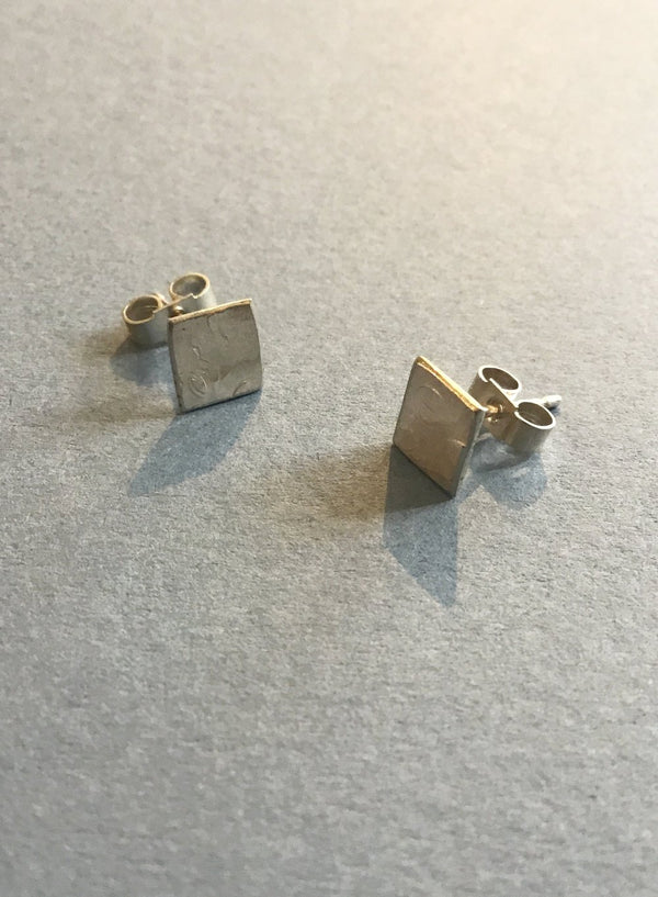 Amy R Lee large square studs