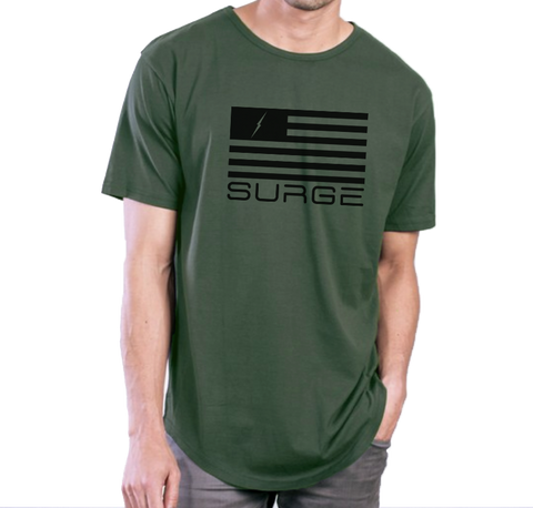 Classic Flag - Swoop Men's - Army Green/Black