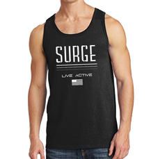 Live Active Men's Tank- Black