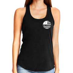 Surf Women's Racerback Tank - Black/White