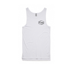 Diamond Men's Tank- White