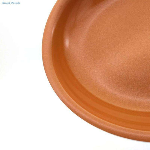 Cake Stencil's Store Frying Pan Non-stick Copper Frying Pan