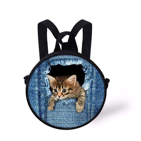 candiesshop Great for Gifts C3301I 3D Cat Backpack