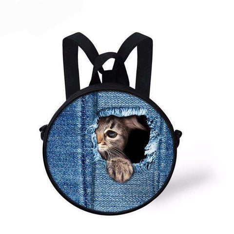 candiesshop Great for Gifts C3302I 3D Cat Backpack