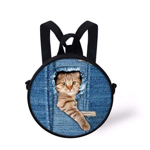 candiesshop Great for Gifts C3303I 3D Cat Backpack