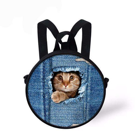 candiesshop Great for Gifts C3304I 3D Cat Backpack