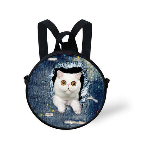 candiesshop Great for Gifts CA4911I 3D Cat Backpack