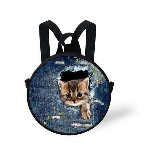 candiesshop Great for Gifts CA4912I 3D Cat Backpack