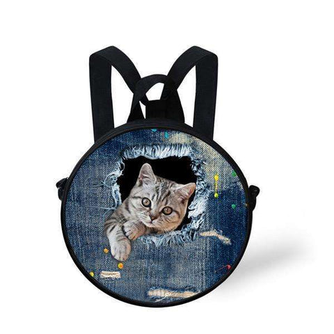 candiesshop Great for Gifts CA4914I 3D Cat Backpack