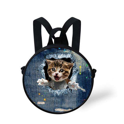 candiesshop Great for Gifts CA4915I 3D Cat Backpack