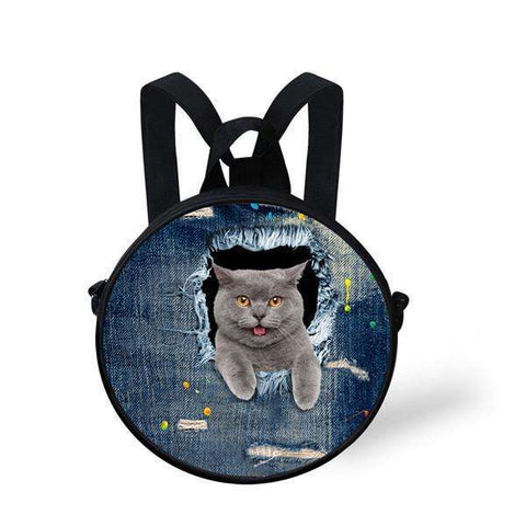 candiesshop Great for Gifts CA4916I 3D Cat Backpack