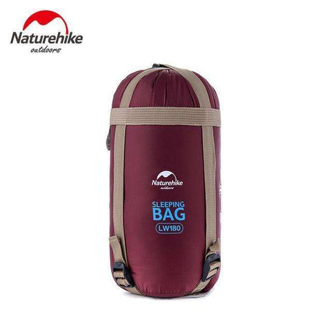 candiesshop Outdoors Burgundy Outy Sleeping Bag