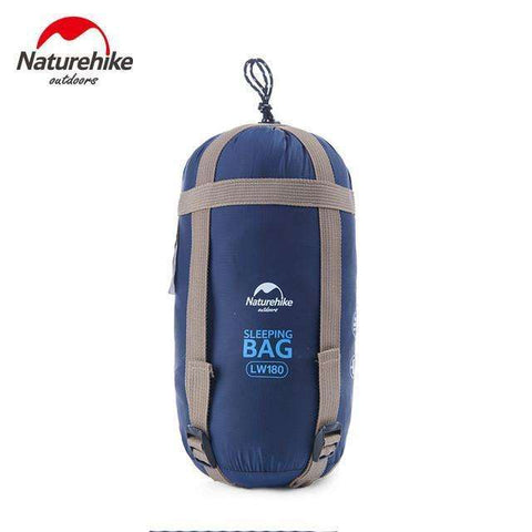 candiesshop Outdoors Navy Blue Outy Sleeping Bag