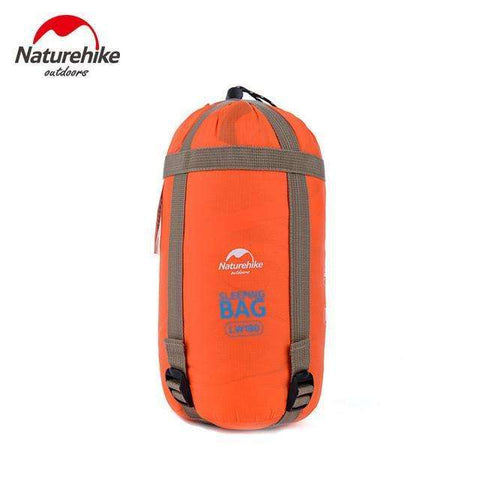 candiesshop Outdoors Orange Outy Sleeping Bag