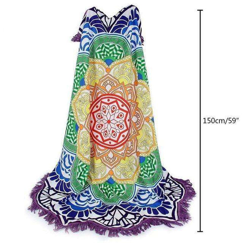 candiesshop Sports 1 / 150cm Tassel Mandala Tapestry