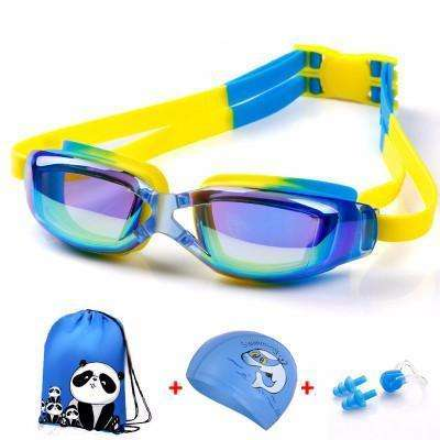 candiesshop Sports Colorful Blue Swimming Accessories Set