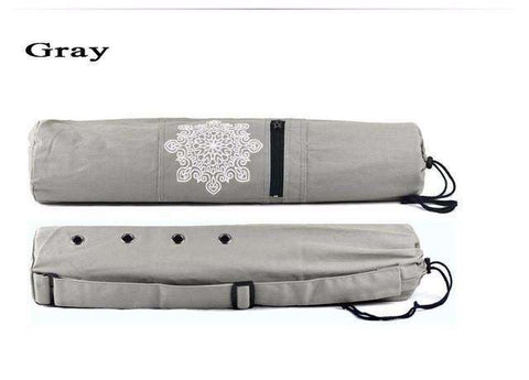 candiesshop Sports Gray Breathe Yoga Mat Bag