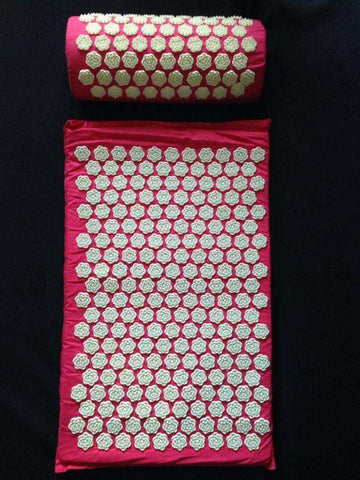 candiesshop Sports Lotus Spikes Acupressure Mat Set