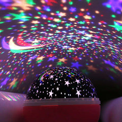 Starry Sky Baby Lamp Projector