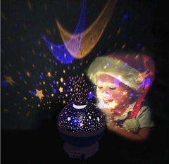 sellingpanda Baby Night Lights Starry Sky Baby Lamp Projector
