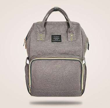 sellingpanda Diaper Bag Grey with yellow Best Nappy Bag