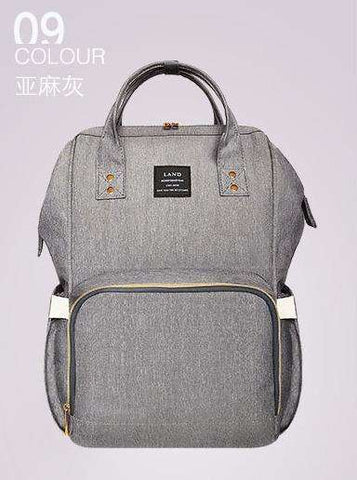 sellingpanda Diaper Bag New Grey Best Nappy Bag