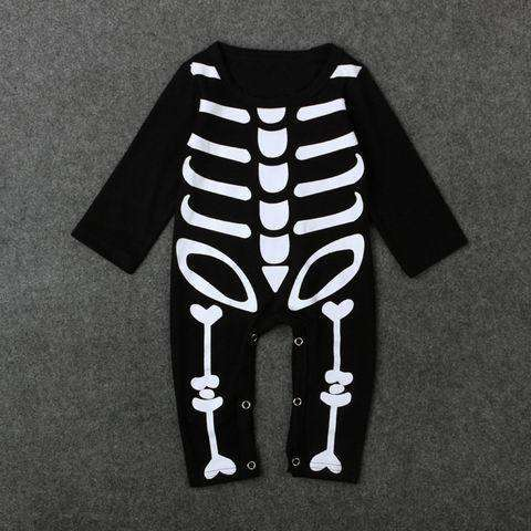 sellingpanda Halloween Costumes photo color / 0-3 months Skeleton Costume