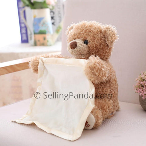 sellingpanda Stuffed & Plush Animals Ben The Peek-a-boo Dog