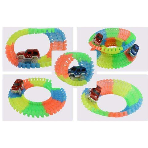 sellingpanda Toys Magic Glow Race Tracks