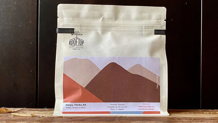 ROOFTOP COFFEE | Kenya Thiriku AA, 225g - O-FIVE RARE TEA BAR