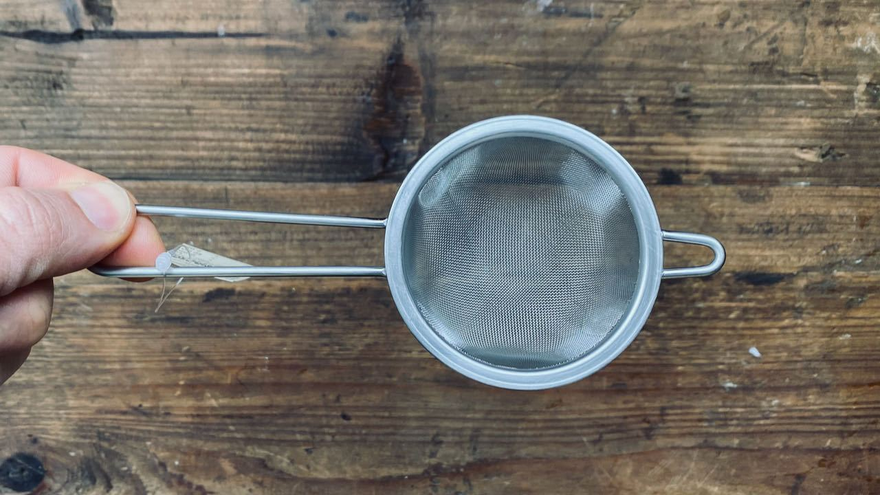 Stainless Steel Japanese Tea Strainer - O-FIVE RARE TEA BAR