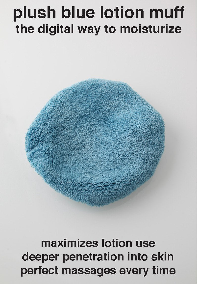 BUFFBlue Lotion Mitt