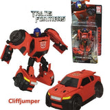 Hasbro Transformers IDW Commander Level G Series Bumblebee Cliffjumper Windcharger Brawn Wreck-Gar Action Figures Model Toy 8cm