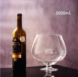 JM 2000ml - 4000ml party funny glass / wine glass / cocktail glass glass cup  crystal wine glasses  whiskey glass  beer glass